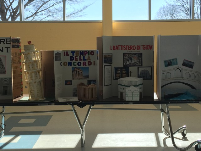 Italian 3 Honors Monument Projects