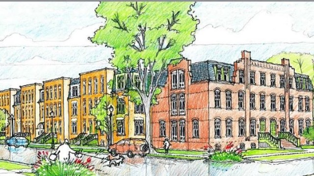 Rendering for Pullman Artspace
