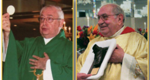 The Rev. Michael Piscopo and the Rev. Joseph Sibiliano